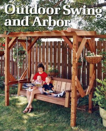 3551-Outdoor Arbor Swing Plans