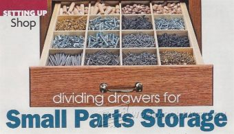 3553-Drawers Small Parts Storage System