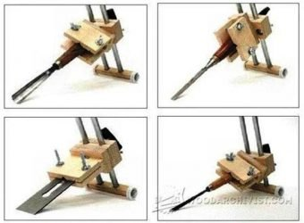 3560-Chisel and Plane Iron Sharpening Jig Plans