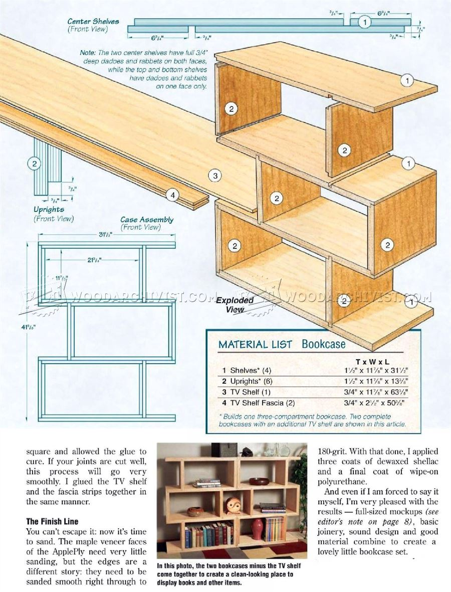Modular TV Entertainment Center Plans