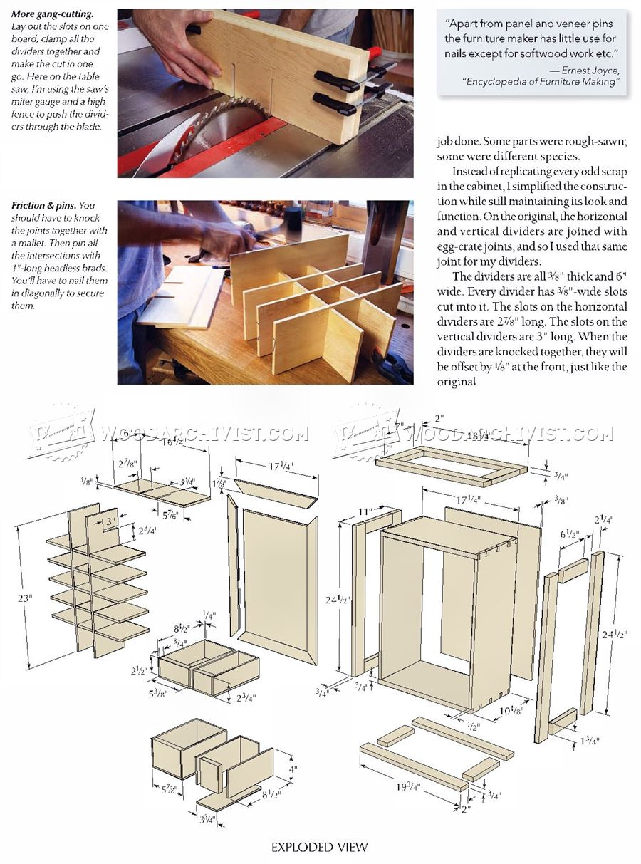 Nail Cabinet Plans