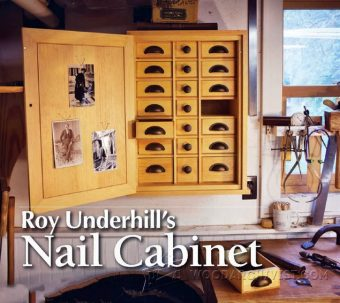 3571-Nail Cabinet Plans