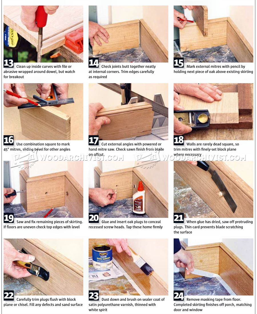 DIY Skirting Boards