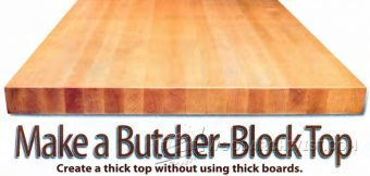 3574-DIY Butchers Block Top