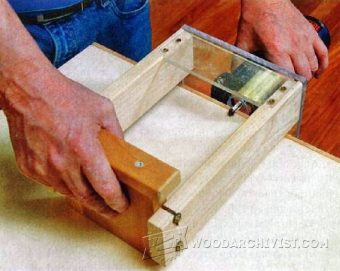 3575-Flush Trim Router Jig