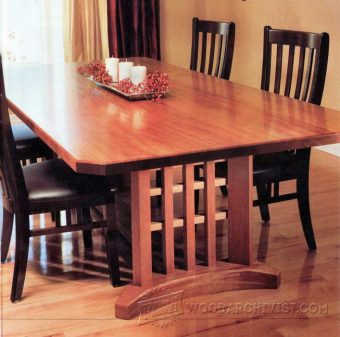 3579-Trestle Table Plans