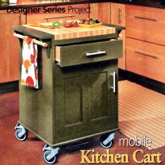 3582-Kitchen Cart Plans