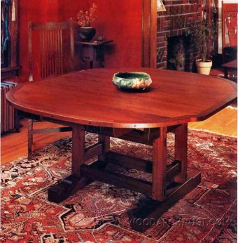 3586-Extendable Dining Table Plans