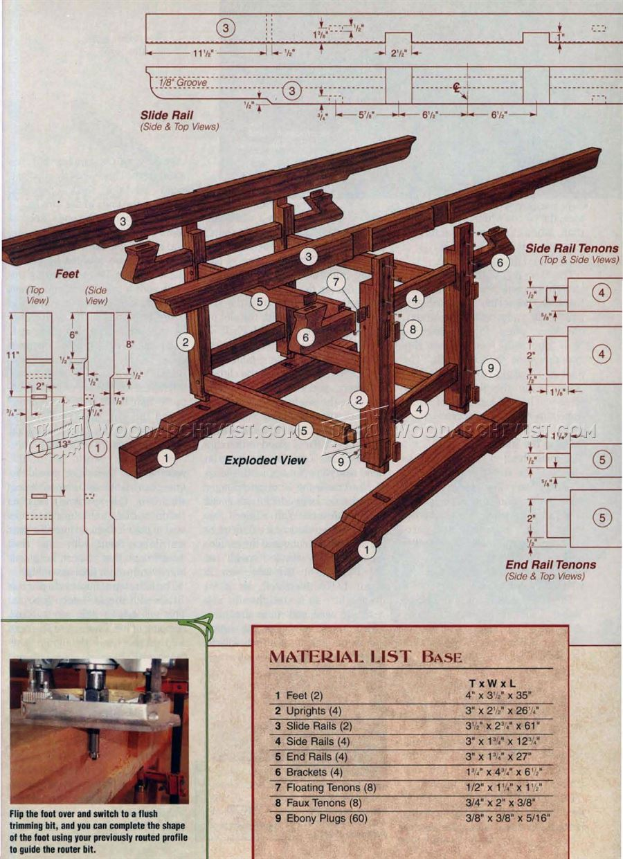 Extendable Dining Table Plans