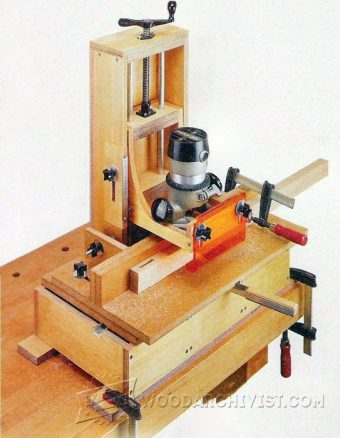 3590-DIY Mortising Machine