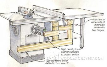 3591-Table Saw Safety Switch