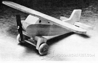 3599-Wooden Airplane Plans