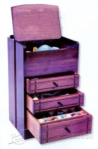 3607-Sewing Cabinet Plans