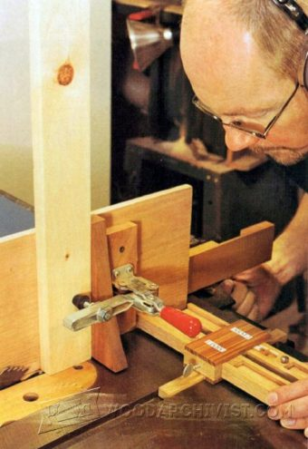 3608-Table Saw Tenoning Jig Plans