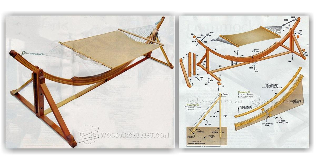 Hammock chair stand diy design inspiration for Hammock chair stand plans