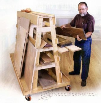 3619-Lumber and Sheet Storage Rack Plans