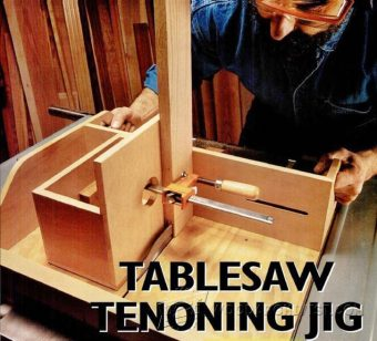 3624-DIY Table Saw Tenon Jig