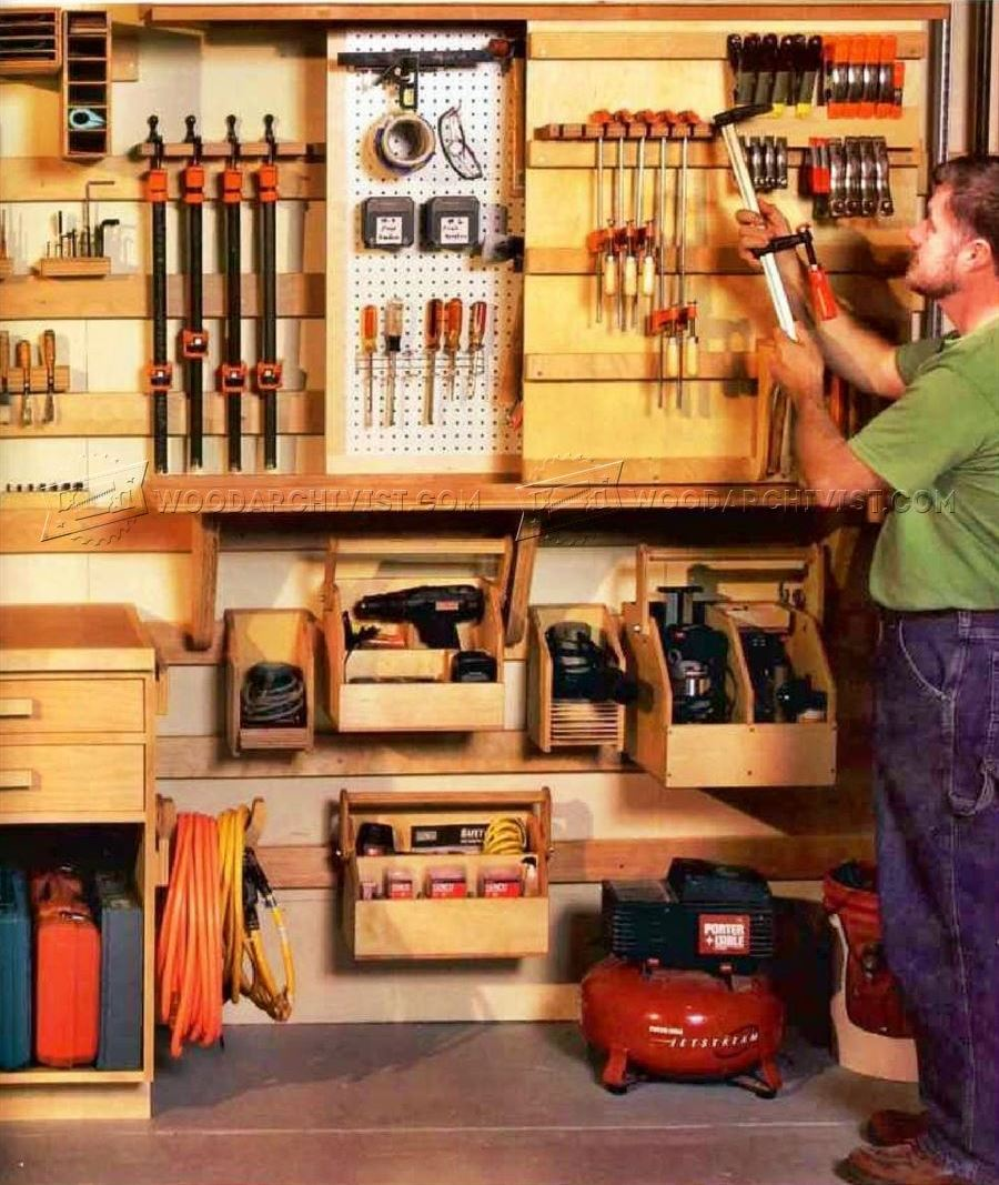 Workshop Modular Wall Storage System