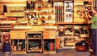 3626-Workshop Modular Wall Storage System