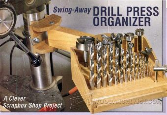 3629-Drill Press Organizer