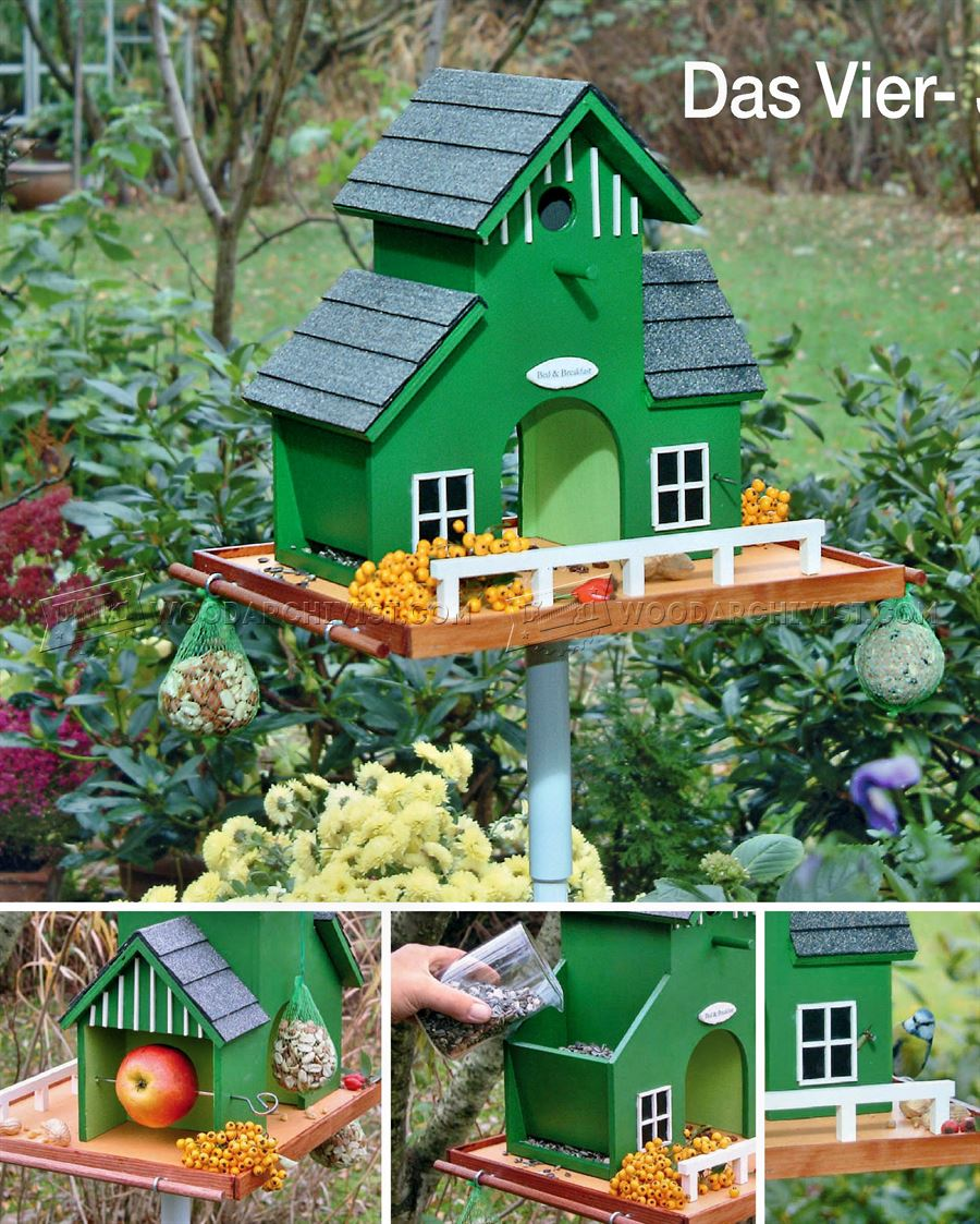 DIY Garden Bird Feeder