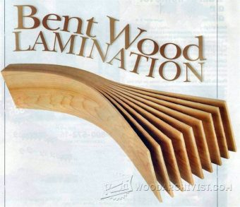 3643-Bent Wood Lamination
