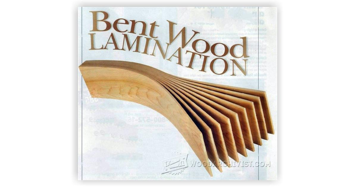 Bent Wood Lamination Woodarchivist