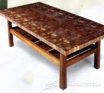 3647-Making End Grain Table Top