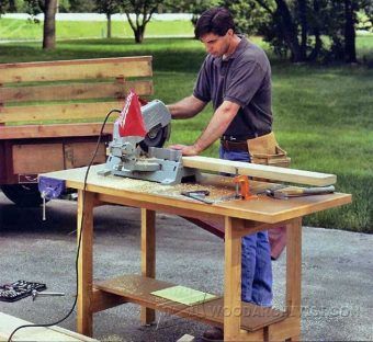 3649-Portable Workbench Plans
