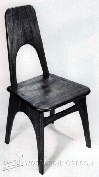 3652-Contemporary Chair Plans