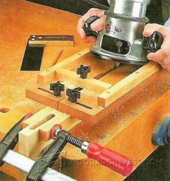 3653-Router Mortising Jig Plans