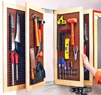 3662-Pegboard Storage Panels