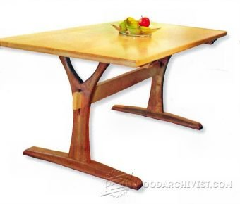 3664-Dining Table Plans