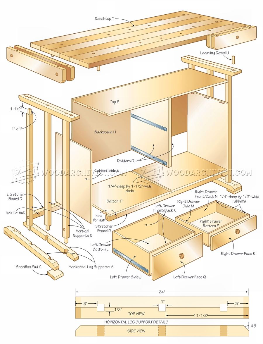 Practical Workbench Plans