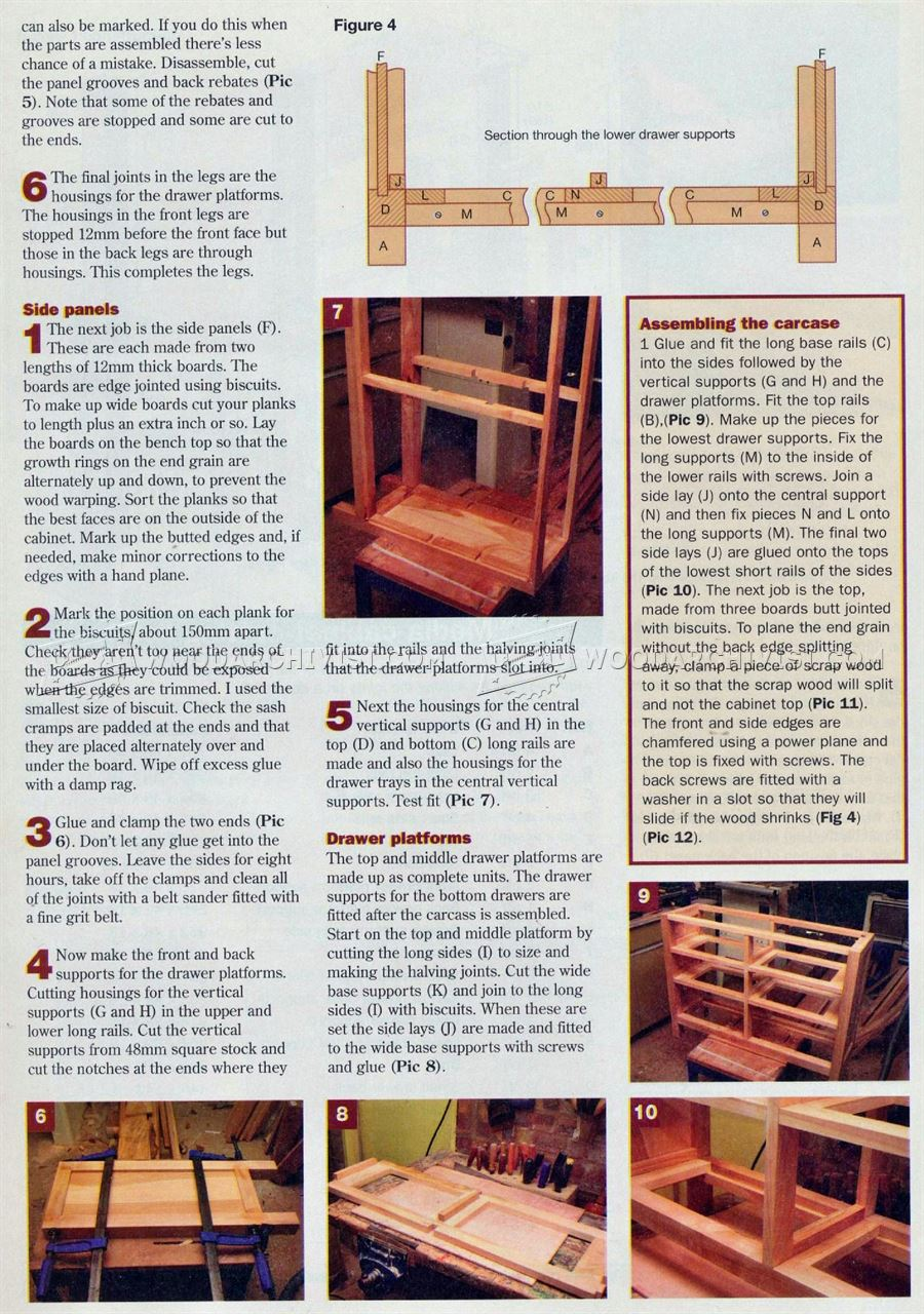 Cherry Cabinet Plans