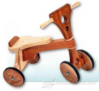 3680-Wooden Tricycle Plans