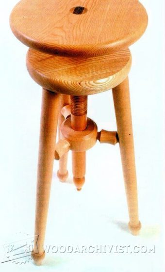 3682-Adjustable Stool Plans