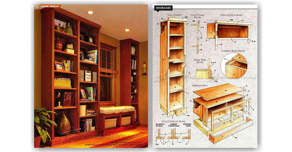 how to build mdf bookcase