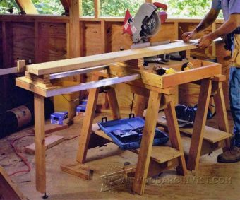 3690-Mobile Miter Saw Station Plans