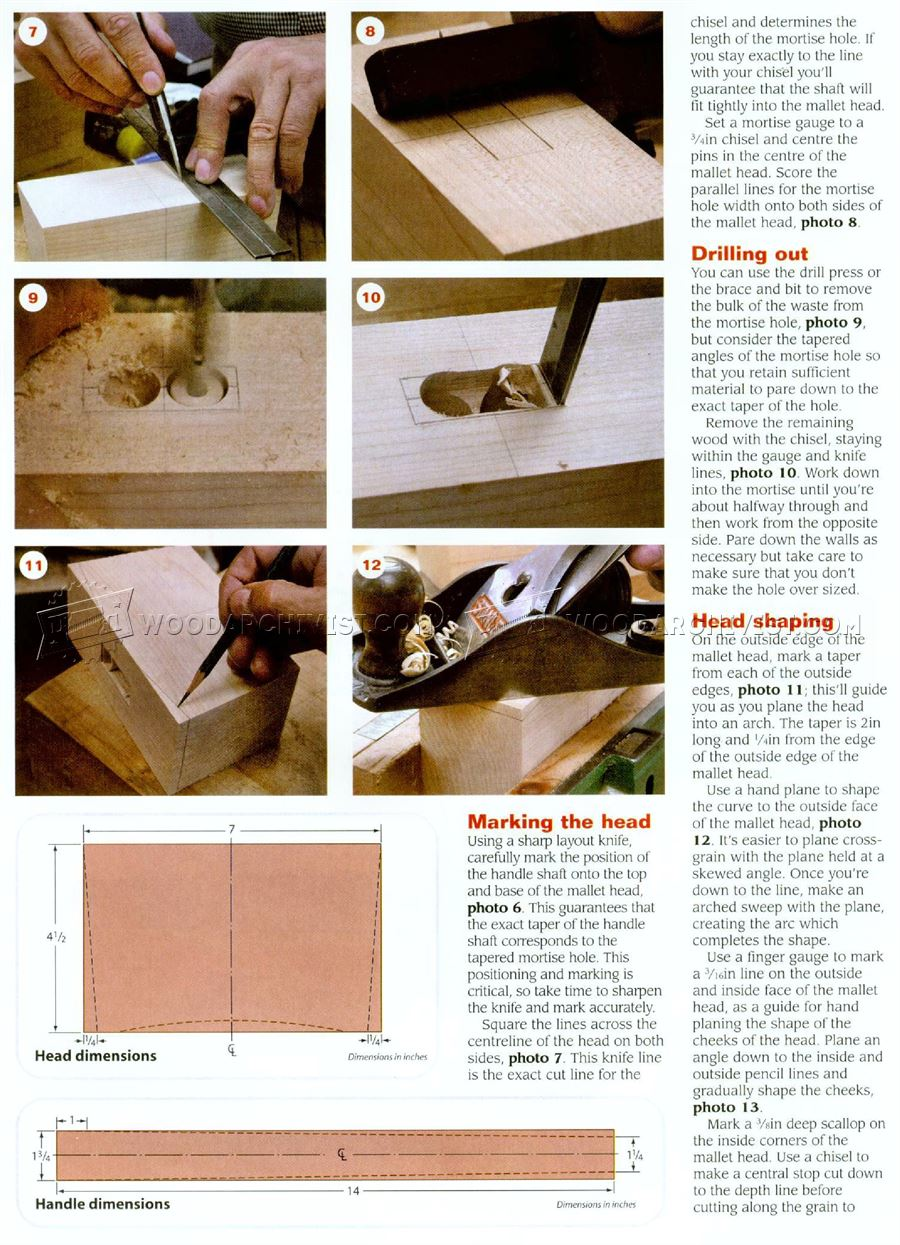 Making Joiners Mallet