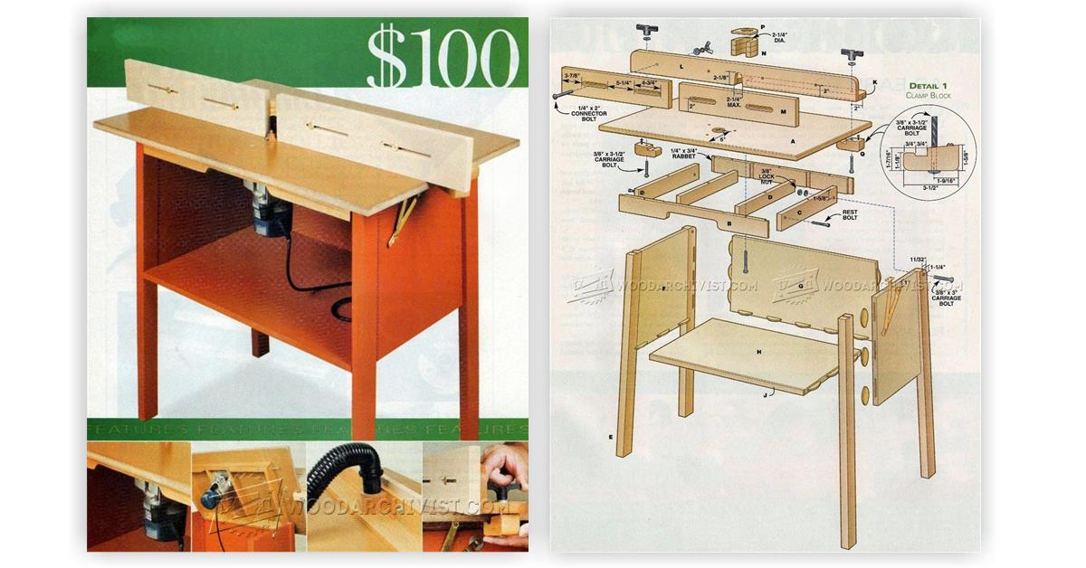 Simple router table plans woodarchivist keyboard keysfo Image collections