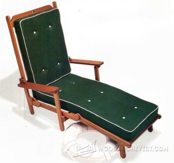 3710-Deck Chair Plans