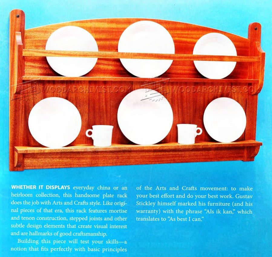 Build Plate Rack