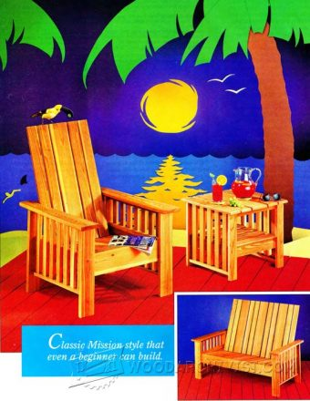 3730-Outdoor Furniture Plans