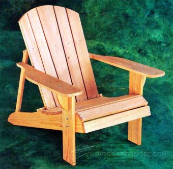 3733-Classic Adirondack Chair Plans