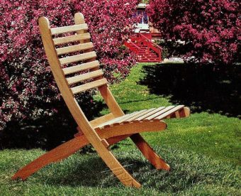 3740-Outdoor Folding Chair Plans