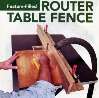 3750-DIY Router Table Fence
