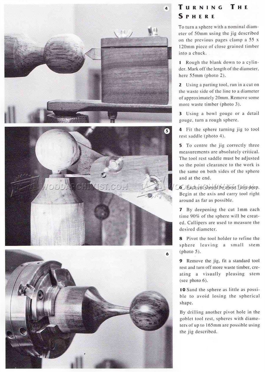Sphere Turning Jig
