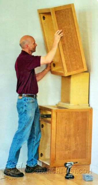 3763-Installing Cabinets