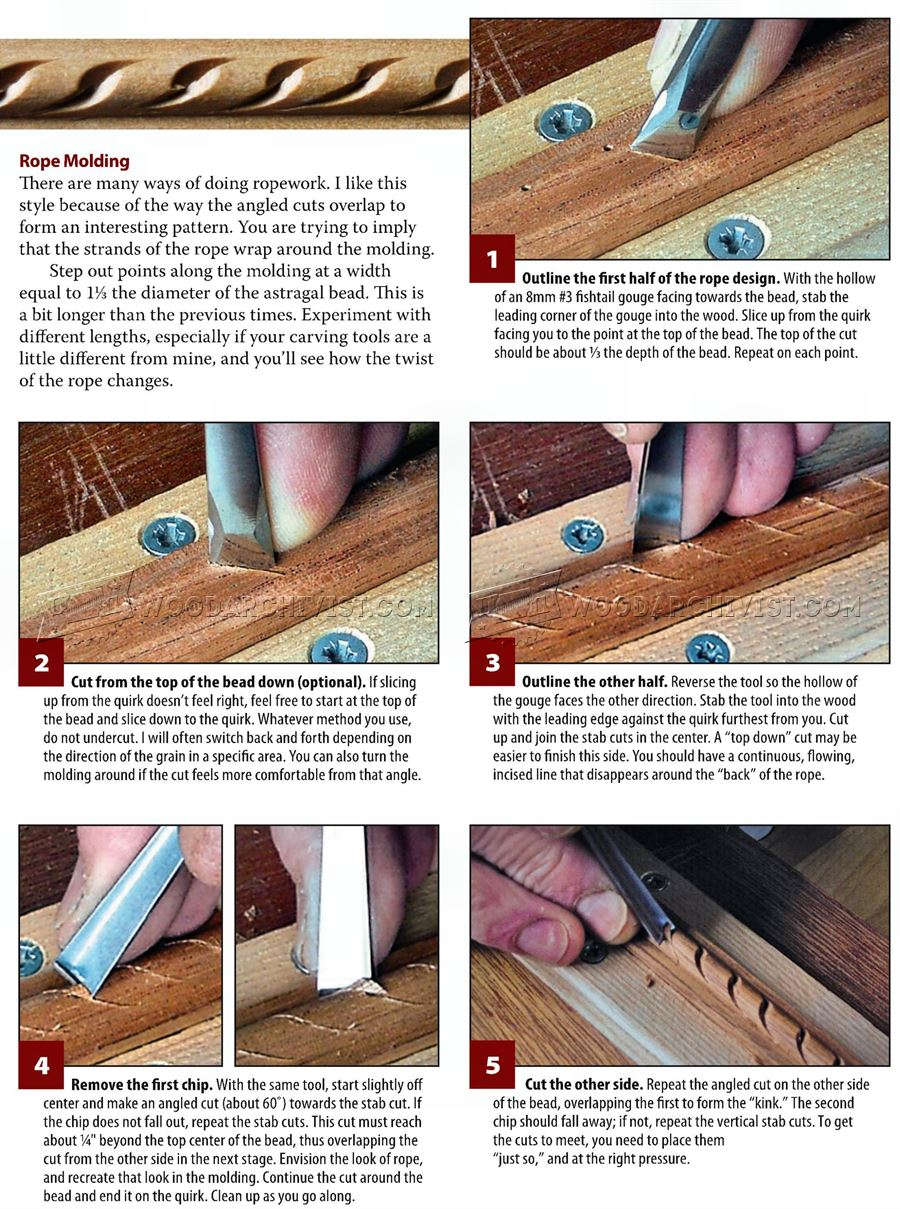 Carving Decorative Molding
